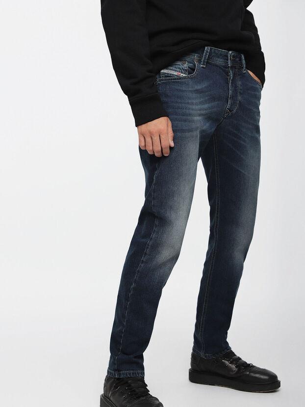 Larkee-Beex 084BU, Dark Blue - Jeans
