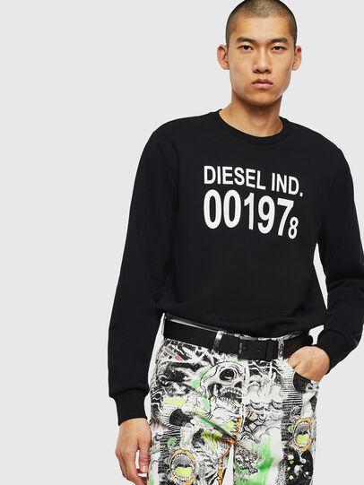 Diesel - S-GIRK-J3, Black - Sweaters - Image 3