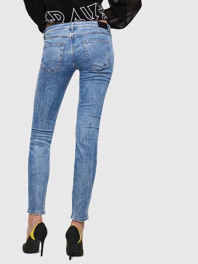 Diesel - Gracey JoggJeans 0870P, Light Blue - Jeans - Image 2