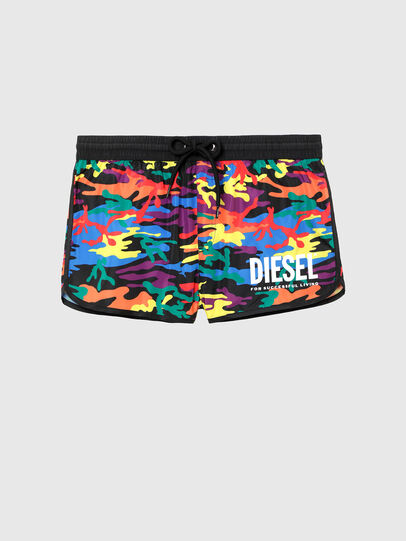 Diesel - BMBX-REEF-28, Multicolor - Swim shorts - Image 4