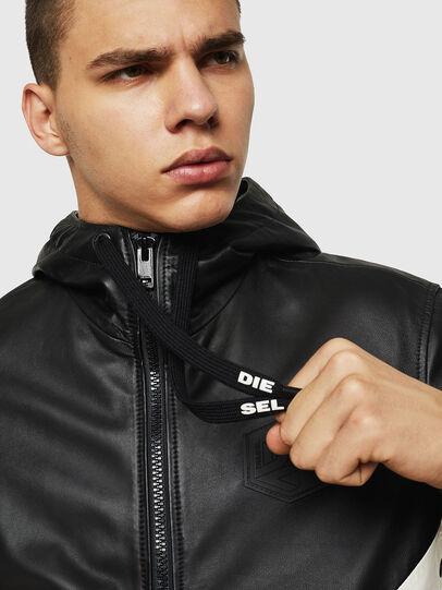Diesel - L-CARR,  - Leather jackets - Image 3