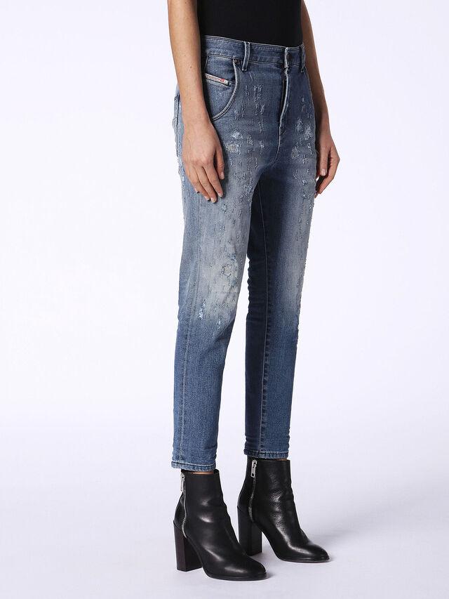 FAYZA-EVO 084SQ, Blue Jeans