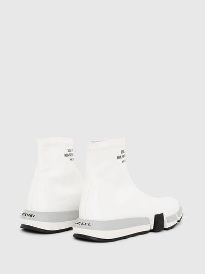 Diesel - H-PADOLA HIGH SOCK, White - Sneakers - Image 3