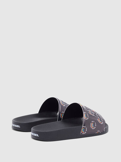 Diesel - SA-VALLA W, Black - Slippers - Image 3