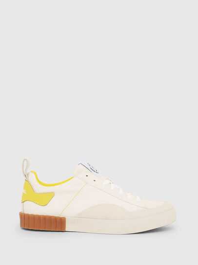 Diesel - S-BULLY LC W, White/Yellow - Sneakers - Image 1