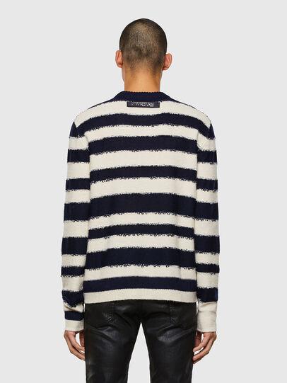 Diesel - K-BRODIE, White/Blue - Knitwear - Image 2