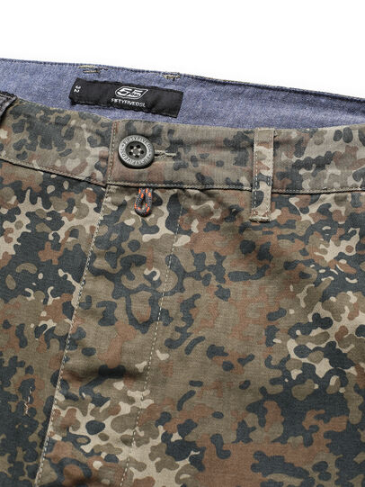 Diesel - D-ONT-HURT-ME, Green Camouflage - Pants - Image 4