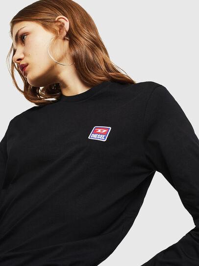 Diesel - T-DIEGO-DIV-LS, Black - T-Shirts - Image 6