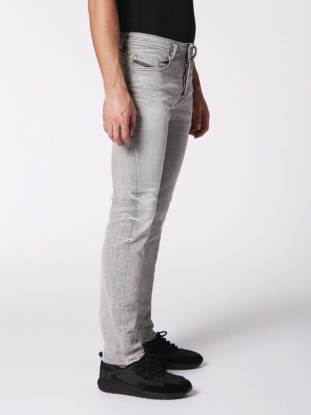 Diesel - BUSTER 0699J, Light Grey - Jeans - Image 3