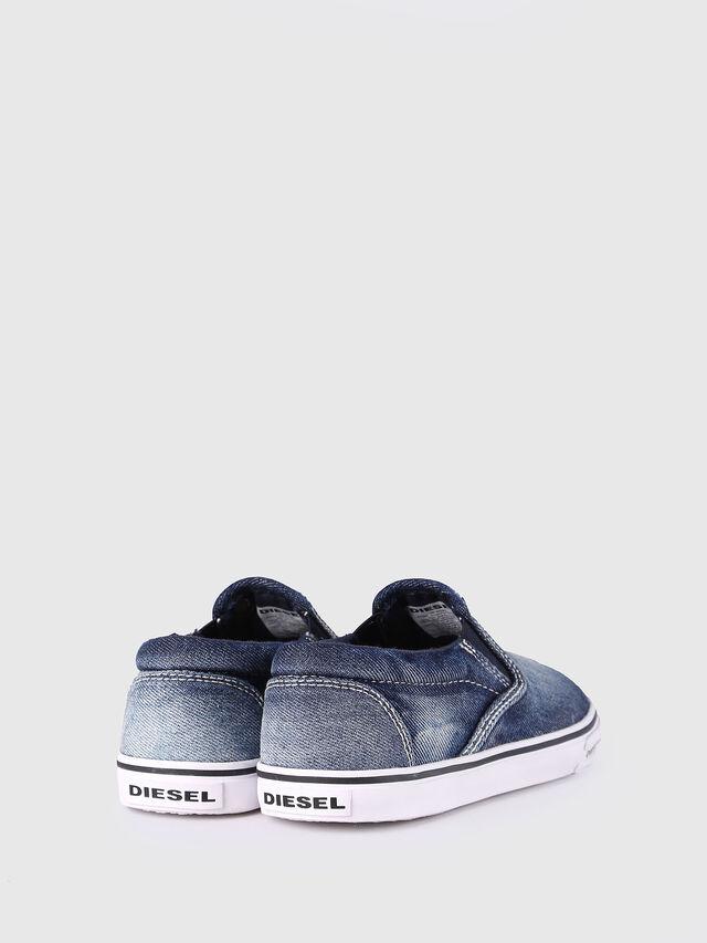 Diesel - SLIP ON 21 DENIM CH, Blue Jeans - Footwear - Image 3