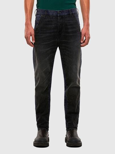 Diesel - D-Slack 009KZ, Black/Dark grey - Jeans - Image 1