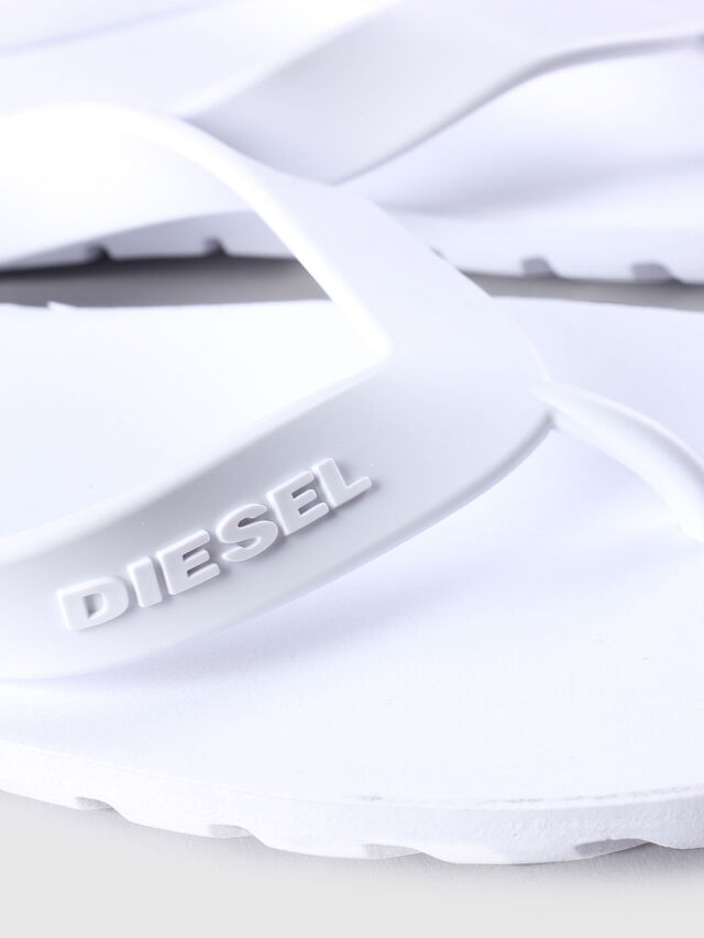 Diesel - SPLISH, White - Slippers - Image 4