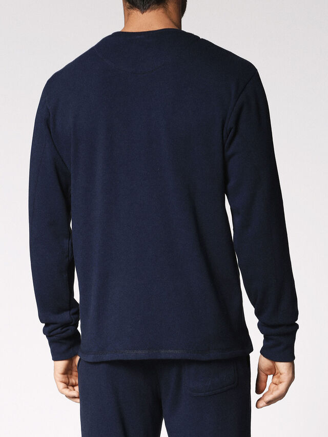 Diesel - UMLT-WILLY, Night Blue - Sweaters - Image 2
