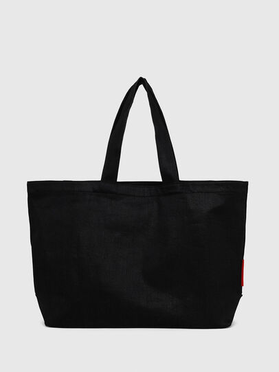 Diesel - D-THISBAG SHOPPER L, Black - Shopping and Shoulder Bags - Image 2
