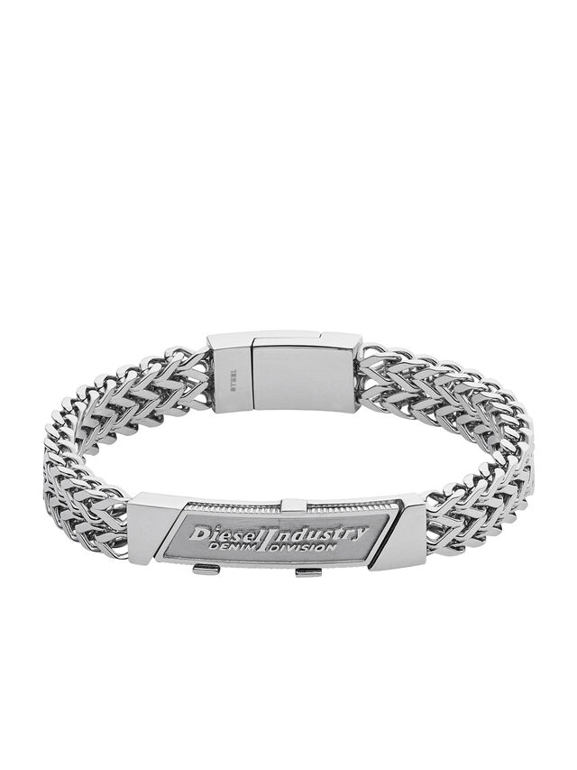 Diesel BRACELET DX1033, Silver - Bracelets - Image 1