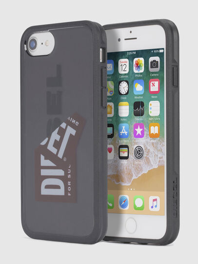 Diesel - STICKER IPHONE 8/7/6S/6 CASE, Black - Cases - Image 1