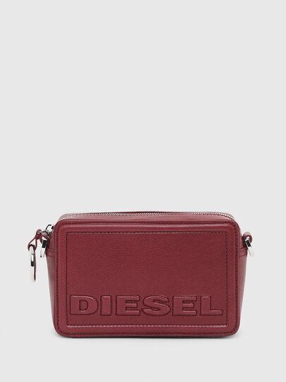 Diesel - ROSA' P, Bordeaux - Crossbody Bags - Image 1
