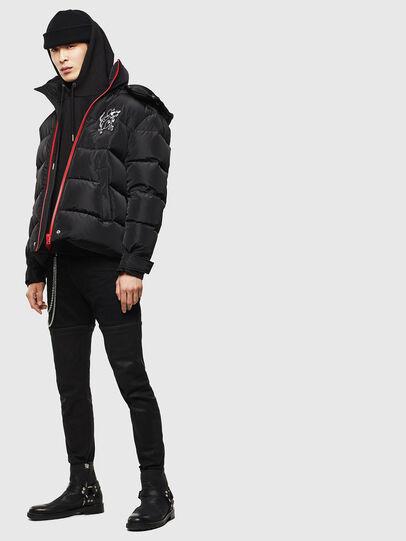 Diesel - CL-W-SMITH-LITM, Black - Winter Jackets - Image 7