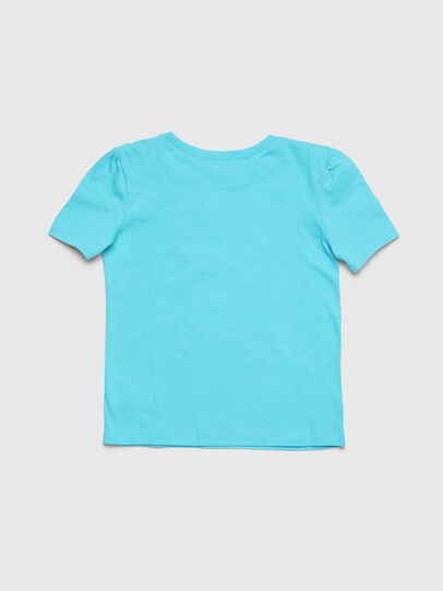 Diesel - TASHAB-R, Azure - T-shirts and Tops - Image 2