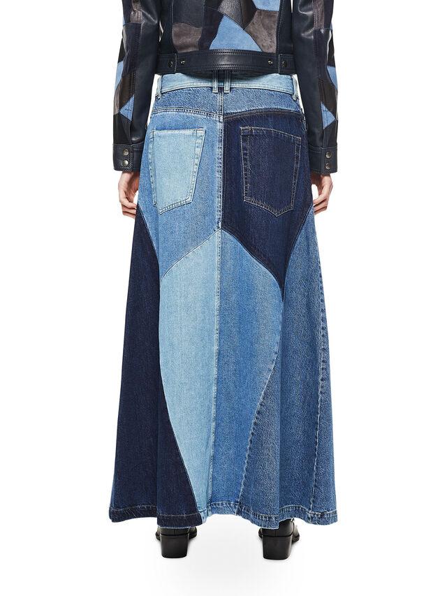 Diesel - ODETTE, Blue Jeans - Skirts - Image 2