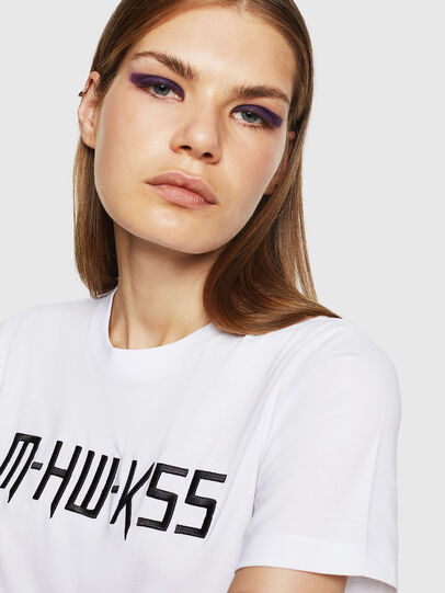 Diesel - T-SILY-WK, White - T-Shirts - Image 3