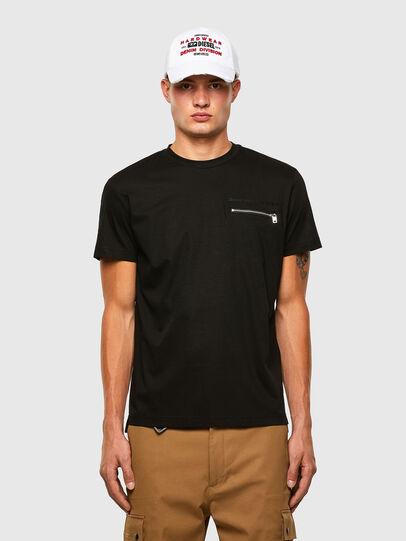 Diesel - T-ZITASK, Black - T-Shirts - Image 1