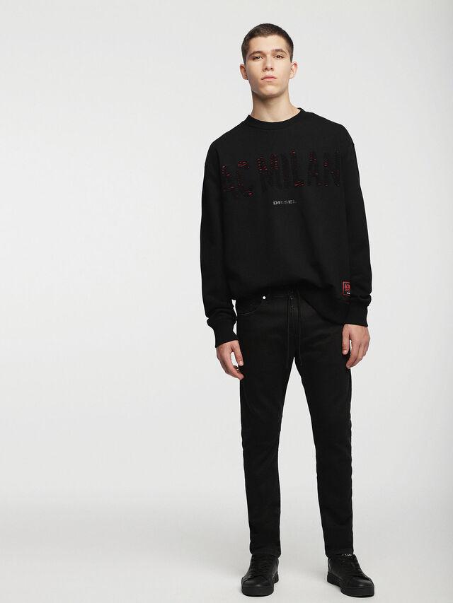 Diesel - DVL-SIFLA-CAPSULE, Black - Sweaters - Image 3