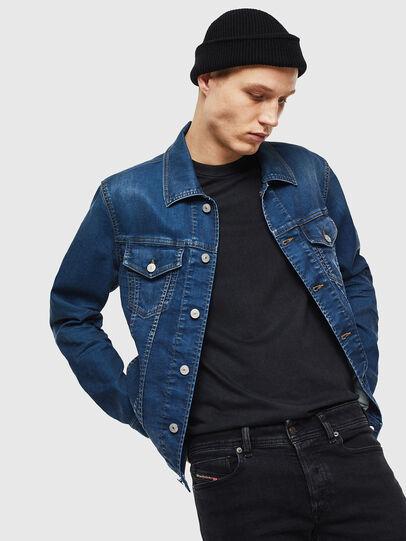 Diesel - NHILL JOGGJEANS, Blue Jeans - Denim Jackets - Image 4