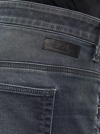 Diesel - Fayza JoggJeans 069QA, Black/Dark grey - Jeans - Image 5