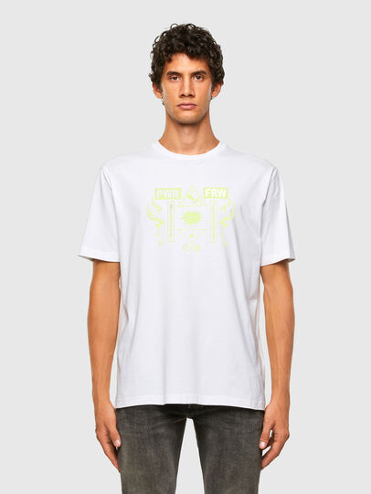 Diesel - T-JUST-X65, White - T-Shirts - Image 4