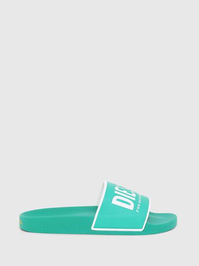 Diesel - SA-VALLA, Green - Slippers - Image 1
