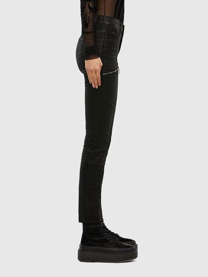 Diesel - D-Ollies JoggJeans 069RK, Black/Dark grey - Jeans - Image 4