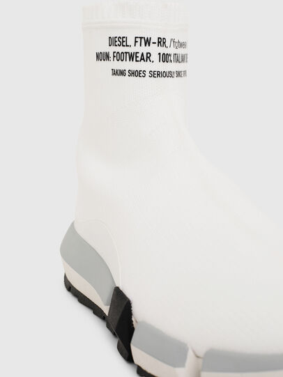 Diesel - H-PADOLA HIGH SOCK W, White - Sneakers - Image 5