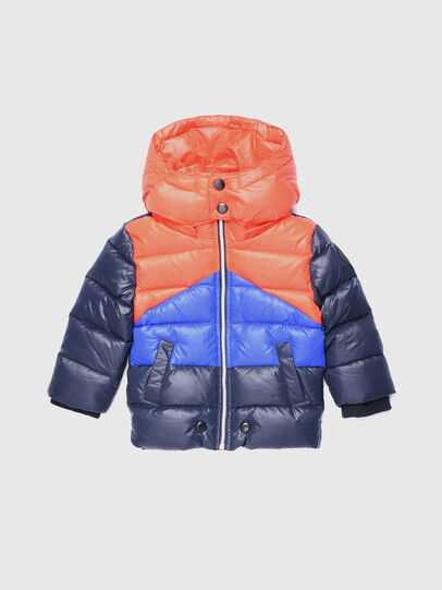 Diesel - JSMITHB, Blue/Orange - Jackets - Image 1