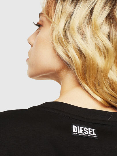 Diesel - T-DARIA-Y, Black - T-Shirts - Image 5
