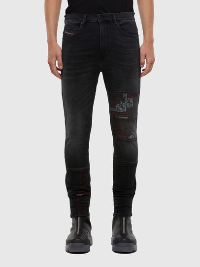 Diesel - D-Amny 009KS, Black/Dark grey - Jeans - Image 1