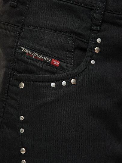 Diesel - Fayza JoggJeans 069NC, Black/Dark grey - Jeans - Image 3