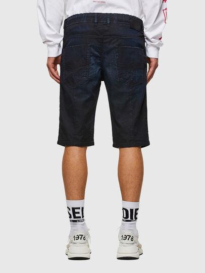 Diesel - D-KROOSHORT-SP JOGGJEANS, Dark Blue - Shorts - Image 2