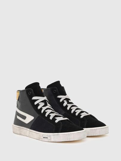Diesel - S-MYDORI ML, Black/Yellow - Sneakers - Image 2