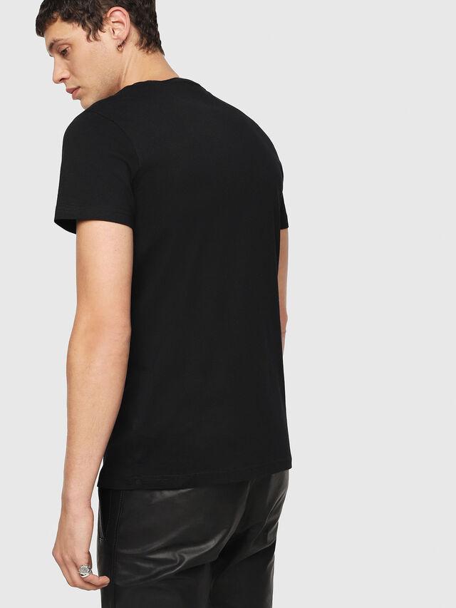 Diesel - T-DIEGO-QA, Black - T-Shirts - Image 2