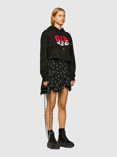 Diesel - O-KOEPY-A, Black - Skirts - Image 5