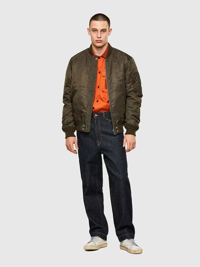Diesel - S-GUNN, Orange - Shirts - Image 4