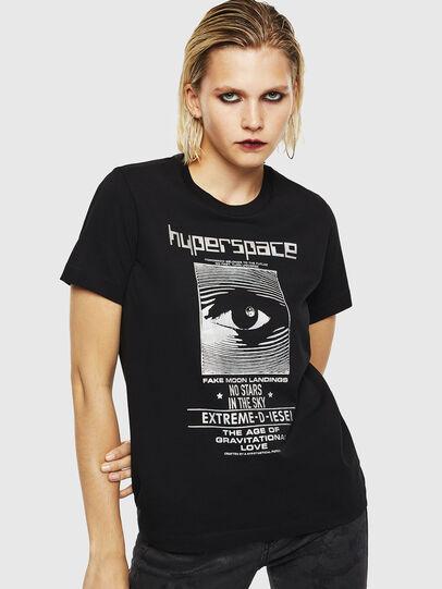 Diesel - T-SILY-YB, Black - T-Shirts - Image 1