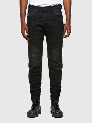 D-Strukt 069TH, Black/Dark grey - Jeans