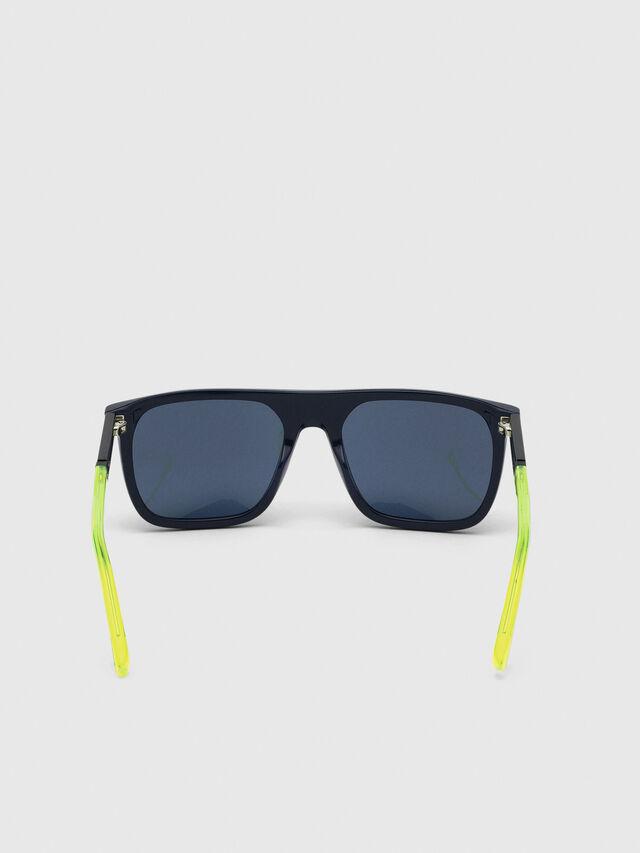 Diesel - DL0299-F, Blue/Yellow - Sunglasses - Image 4