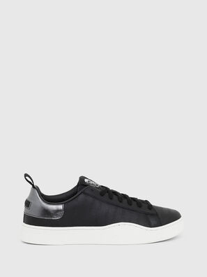 S-CLEVER LOW LACE, Black/Silver - Sneakers