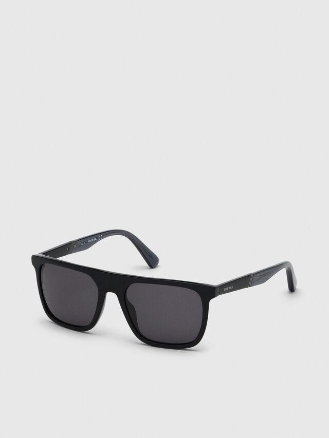 Diesel - DL0299-F, Black/Grey - Sunglasses - Image 2