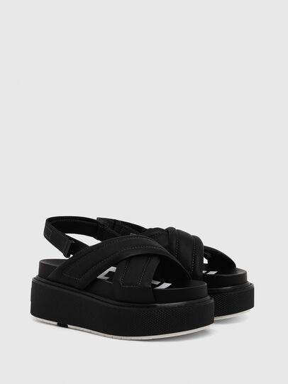 Diesel - SA-SCIROCCO XR, Black - Sandals - Image 2