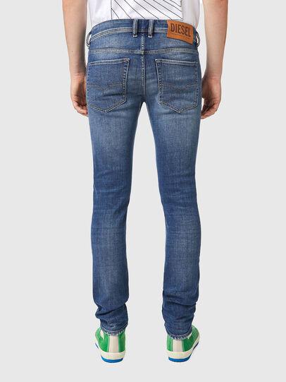 Diesel - Sleenker 09A86, Light Blue - Jeans - Image 2