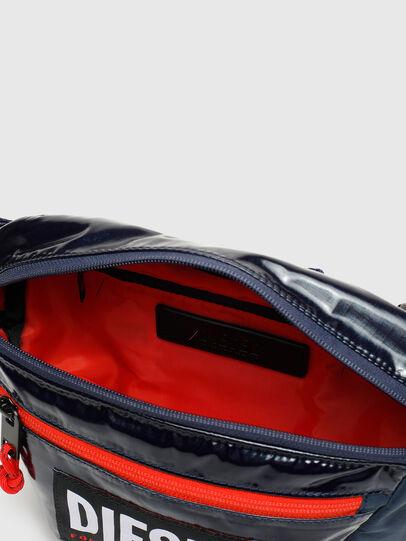 Diesel - LOKI PAT, Blue - Crossbody Bags - Image 3